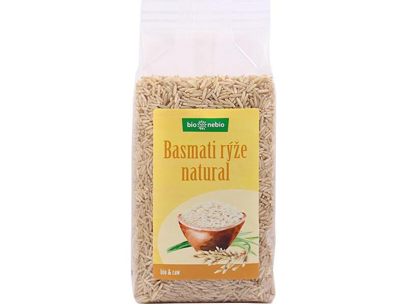 Zobrazit detail výrobku Bio nebio s. r. o. Bio Rýže Basmati natural 500g