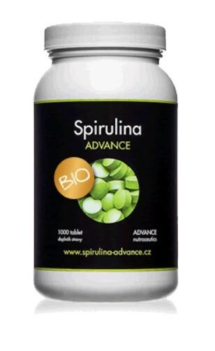 Zobrazit detail výrobku Advance nutraceutics BIO Spirulina 1000 tablet