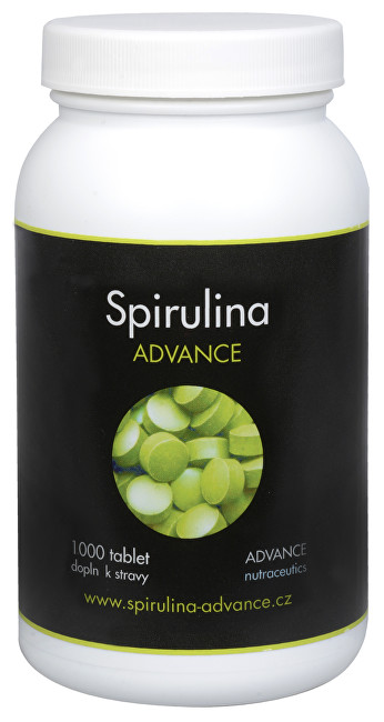 Advance nutraceutics BIO Spirulina 1000 tbl.