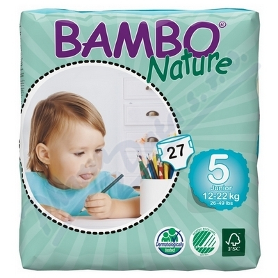ABENA A.S. Bambi Nature Junior plen.k. 12-22kg 27ks
