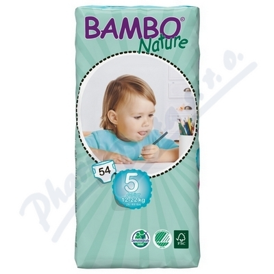 ABENA A.S. Bambi Nature Junior plen.k. 12-22kg 54ks