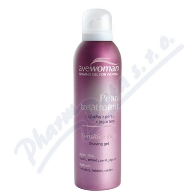 AVEWOMAN Pearl treatment dámsk.gel na holení 150ml