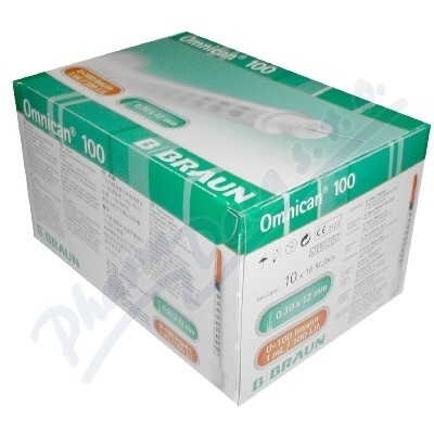 B.BRAUN MEDICAL Inj.střík.ins.1.0ml / 100 IU Omnican 100ks 9151141