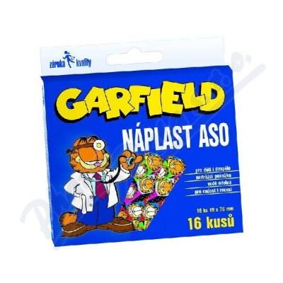 ASO PHILIPPINES INC. Náplast ASO Garfield 19x76mm KRB 16ks