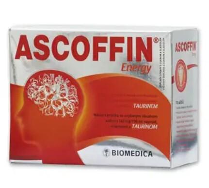 Zobrazit detail výrobku Biomedica Ascoffin Energy 10 sáčků / 8 g