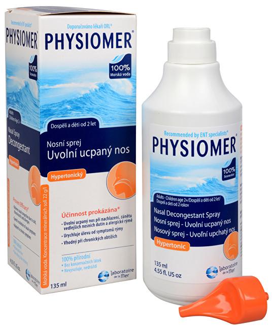 Zobrazit detail výrobku Physiomer hypertonický nosní sprej s obsahem mořské vody 135 ml