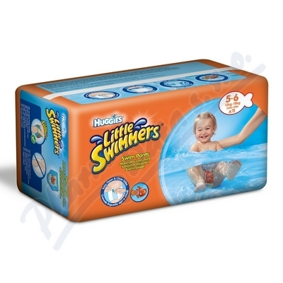 HUGGIES Little Swimmers 5-6 / 12-18kg 11ks