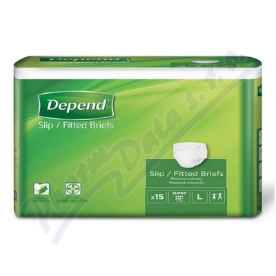KIMBERLY-CLARK - KLEENEX Inkont.kalh.abs.DEPEND Super L 15ks