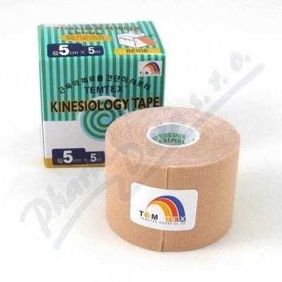 TOWATEK KOREA CO., LTD. Tejp. TEMTEX kinesio tape béžová 5cmx5m