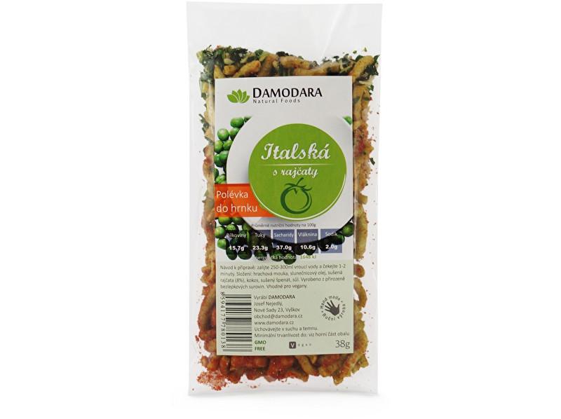 Zobrazit detail výrobku Damodara Instantní polévka do hrnku Italská s rajčaty 38g