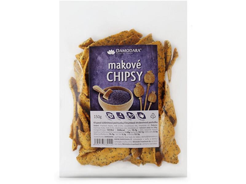 Zobrazit detail výrobku Damodara Makové chipsy 150g