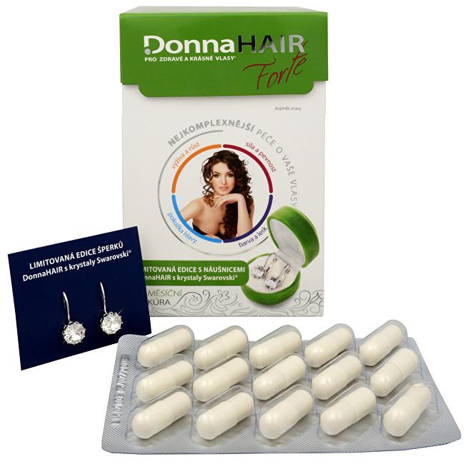 Zobrazit detail výrobku Simply You Donna Hair Forte 90 tob. + náušnice Swarovski ZDARMA