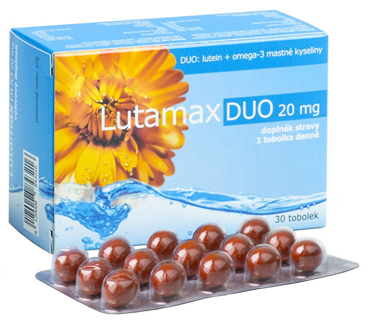 Zobrazit detail výrobku Agency MM Health Lutamax DUO 20 mg 30 kapslí