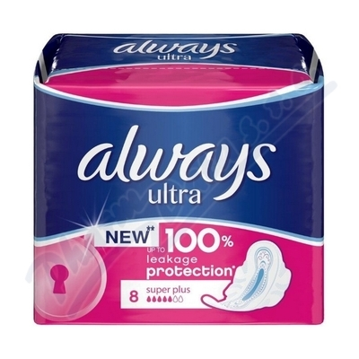 PROCTER GAMBLE DHV Always Ultra Super Plus 8ks