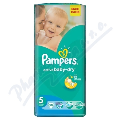 PROCTER GAMBLE PAMPERS Active Baby VPP 5 Junior 50ks
