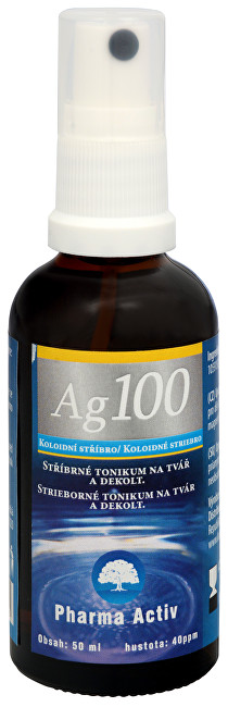 Pharma Activ Koloidné striebro Ag100 (40ppm) spray 50 ml