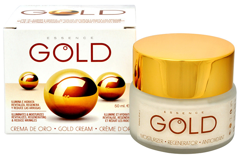 Diet Esthetic Krém se zlatem SPF 15 (Gold Cream) 50 ml