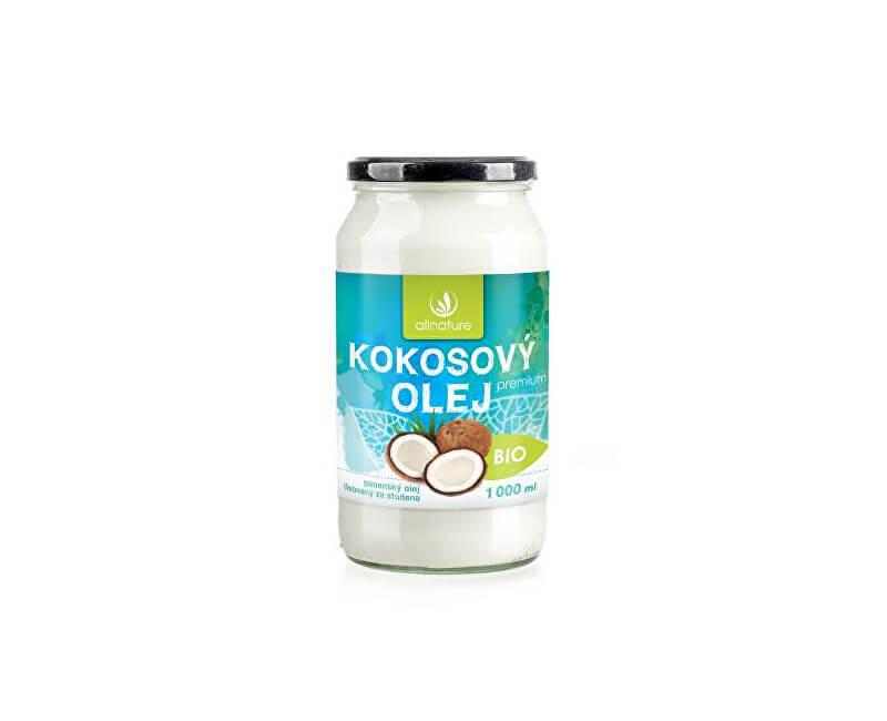 Zobrazit detail výrobku Allnature BIO Kokosový olej Premium 1000 ml