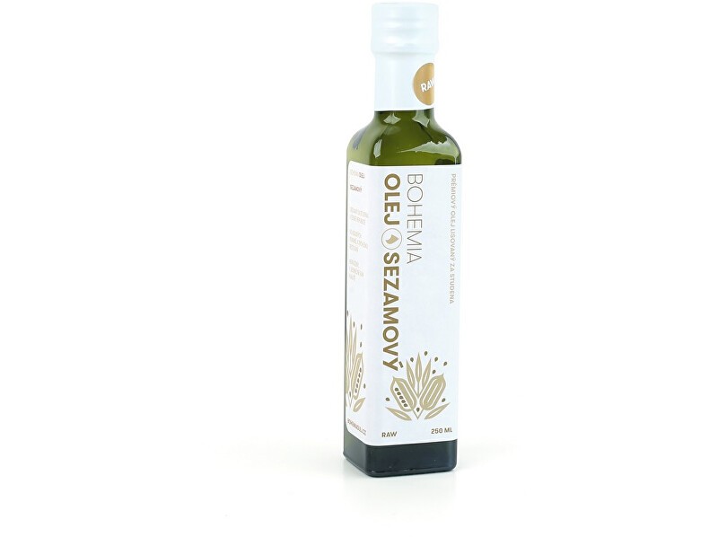 Zobrazit detail výrobku BohemiaOlej Sezamový olej 250 ml