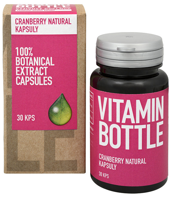 Vitamin Bottle Cranberry Natural 30 kapslí