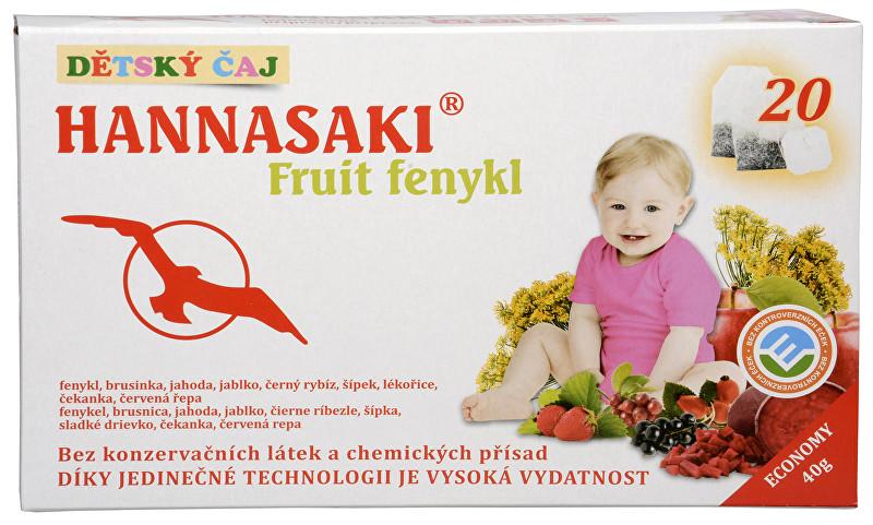 Zobrazit detail výrobku Phoenix Division Hannasaki Fruit fenykl 20 sáčků