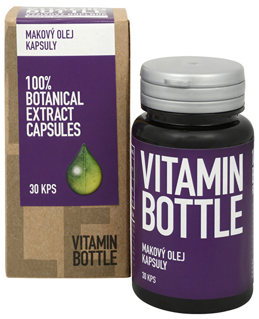 Vitamin-Bottle Makový olej 30 kapslí