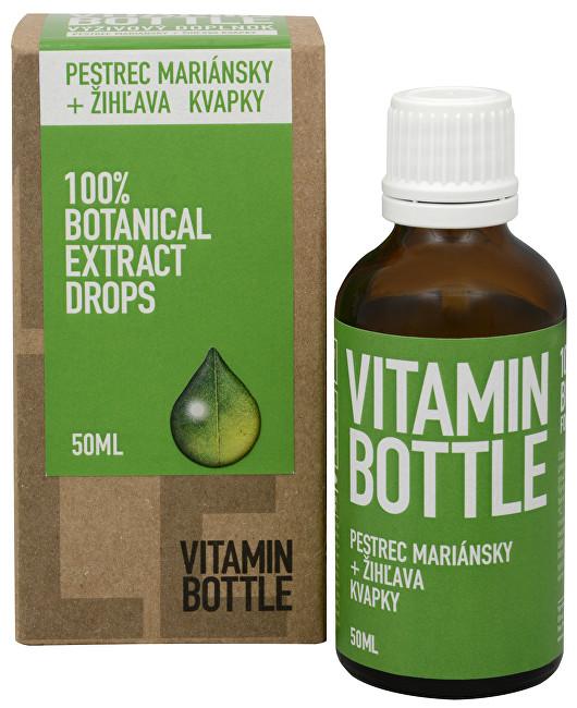 Vitamin Bottle Ostropestřec mariánský + kopřiva 50 ml