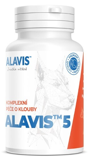 Zobrazit detail výrobku Alavis ALAVIS 5 pro psy a kočky 90 tbl.