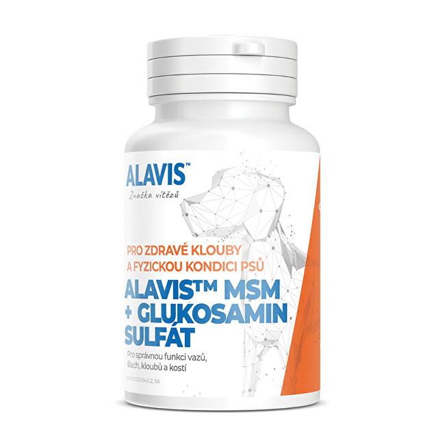 Alavis ALAVIS ™ MSM + Glukózamín sulfát 60 tbl.