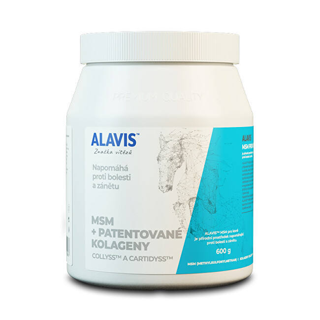 Alavis ALAVIS ™ MSM pre kone 600 g