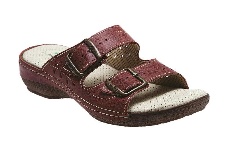 Zobrazit detail výrobku SANTÉ Zdravotní obuv dámská N/124/3/39 vínová 36