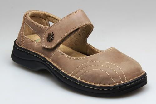 SANTÉ Zdravotná obuv dámska N / 224/8/43 svetlo hnedá 38
