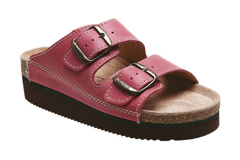 SANTÉ Zdravotná obuv dámska N / 25 / C30 / H / K / CP svetlo červená 41
