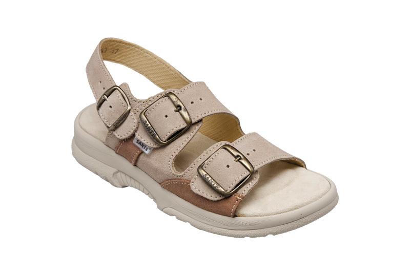 SANTÉ Zdravotná obuv dámska N / 517/43/28/47 / SP béžová 36