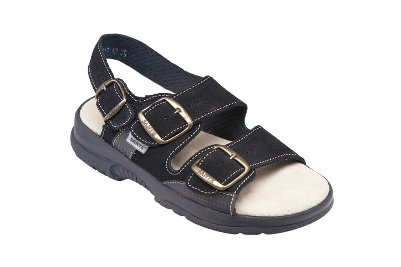 Zobrazit detail výrobku SANTÉ Zdravotní obuv dámská N/517/43/68/CP černá 37