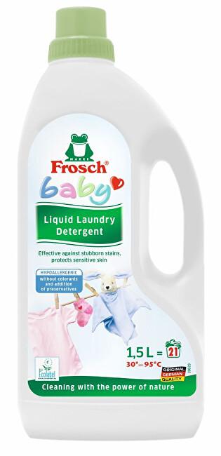 Zobrazit detail výrobku Frosch Hypoalergenní prací gel na kojenecké prádlo 1500 ml