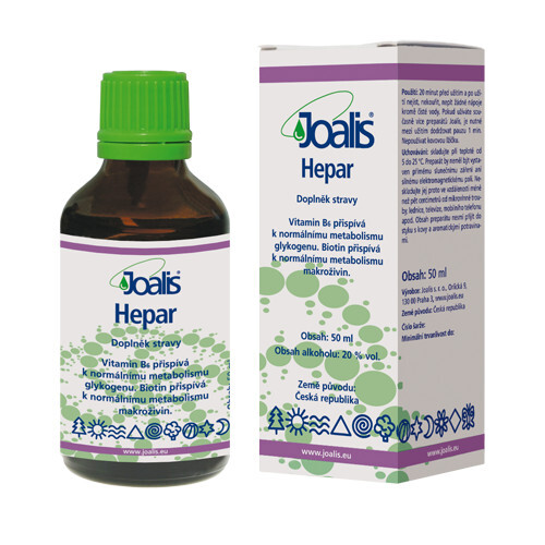 Zobrazit detail výrobku Joalis Joalis Hepar 50 ml