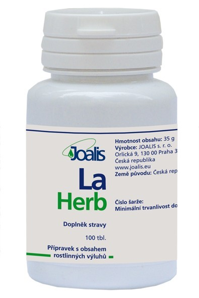 Zobrazit detail výrobku Joalis LaHerb (LaxaHelp) 100 tbl.