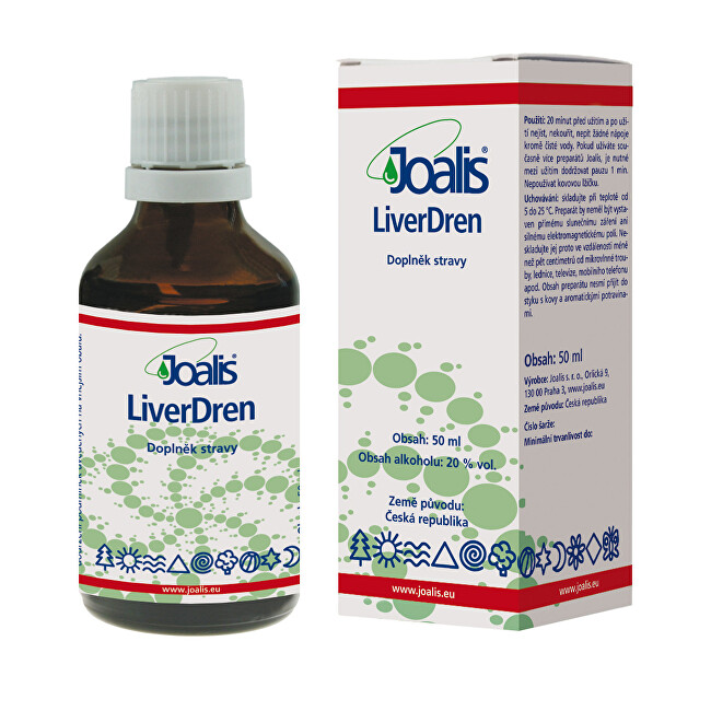 Zobrazit detail výrobku Joalis Joalis LiverDren 50 ml
