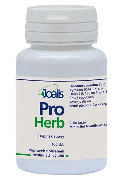 Zobrazit detail výrobku Joalis Joalis ProHerb (ProstaHelp) 100 tbl.