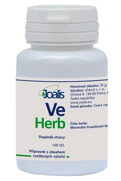 Zobrazit detail výrobku Joalis Joalis VeHerb (VenaHelp) 100 tbl.