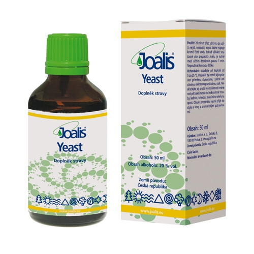 Zobrazit detail výrobku Joalis Joalis Yeast 50 ml