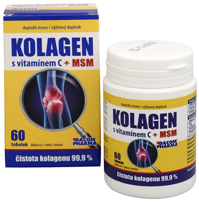 Kolagen s vitamínem C + MSM 60 tob.