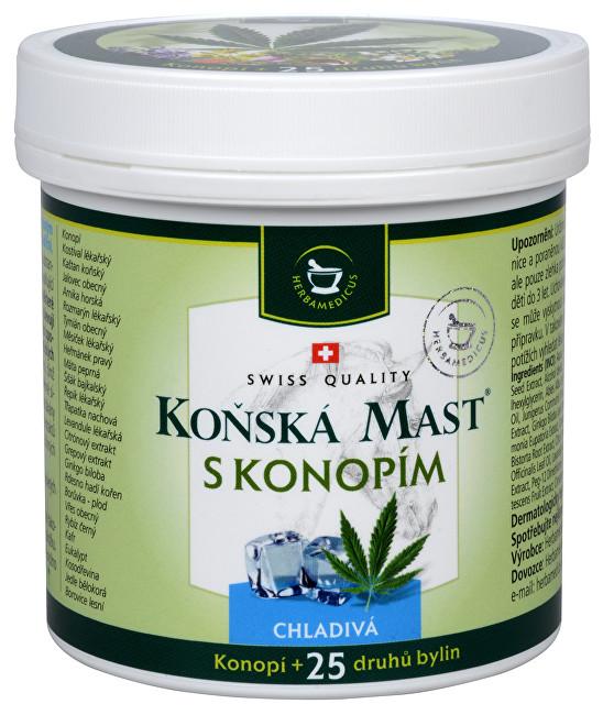Zobrazit detail výrobku Herbamedicus Koňská mast chladivá s konopím 250 ml