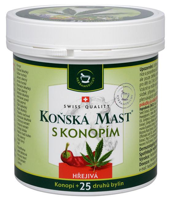 Zobrazit detail výrobku Herbamedicus Koňská mast hřejivá s konopím 250 ml