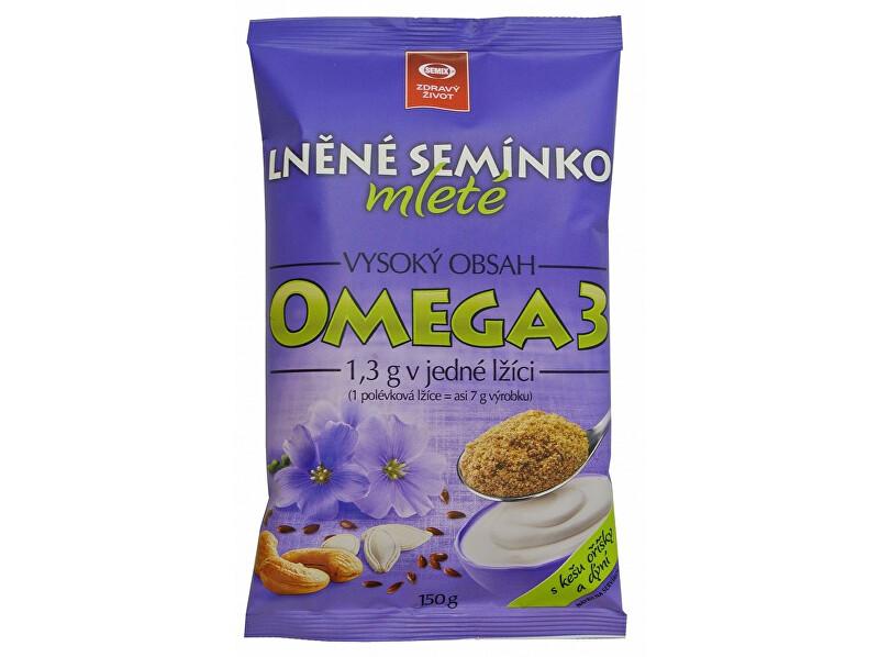 Zobrazit detail výrobku Semix Lněné semínko mleté s kešu oříšky a dýní 150g