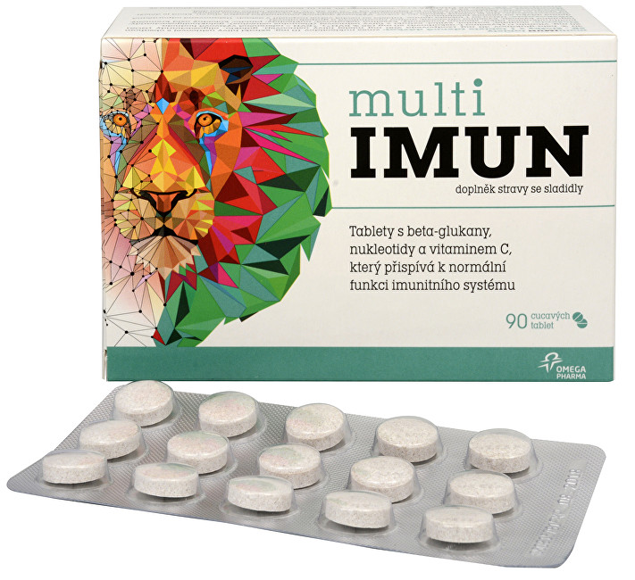 Zobrazit detail výrobku Omega Pharma MultiIMUN cucavé 90 tablet