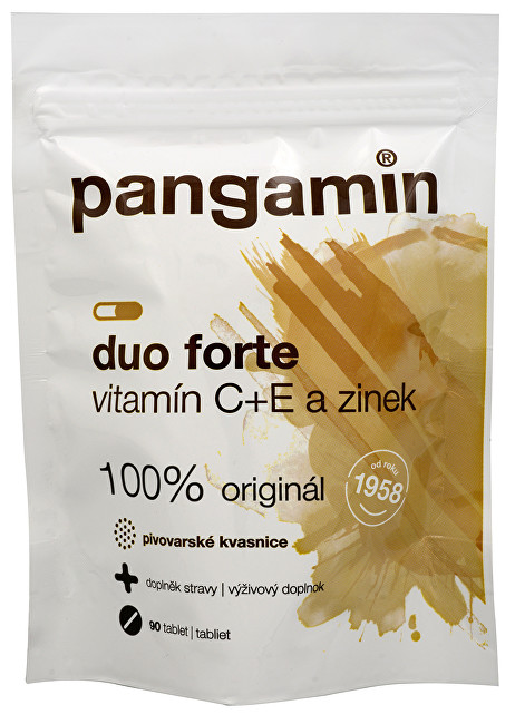 Pangamin duo forte C+E a zinek 90 tbl. sáček