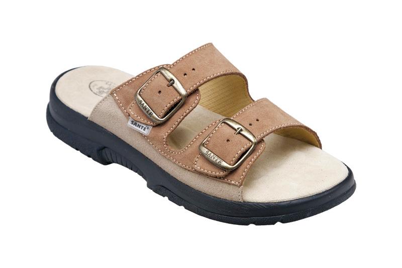 SANTÉ Zdravotná obuv pánska N / 517/36/47/28 / CP hnedá 45