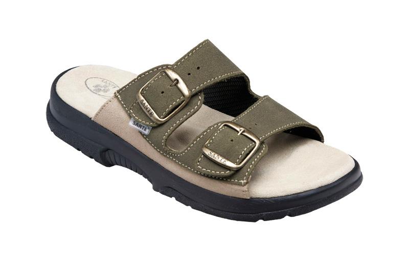 Zobrazit detail výrobku SANTÉ Zdravotní obuv pánská N/517/36/98/28/CP khaki 42